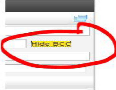 How To Invoke BCC in Comcast Webmail