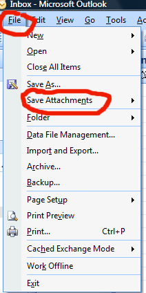 How To Save An Email Attachment In Microsoft Outlook