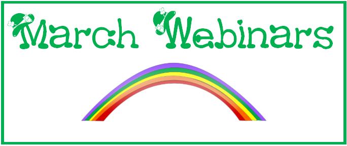 The Webinars of March